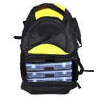 Мешок Backpack рыболовства с пластичной коробкой