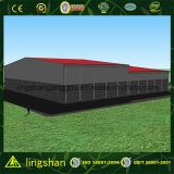 La Chine a préfabriqué le coût de construction d'entrepôt d'armature en acier (LS-SS-212)