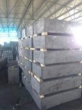 Bloc de graphite moulé par 1.80g de densité d'USD4/Per kilogramme