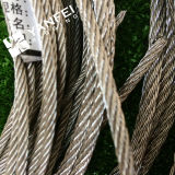 철강선 밧줄을%s 직류 전기를 통한 3배 유형 철사 밧줄 클립