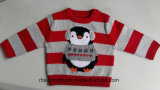 Kids Sweater Intarsia Penguin Jumper for Servant boys