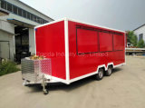 2017 Food Truck Trailer / Snack Mobile Food Trailer / Mobile Kitchen Car avec Ce