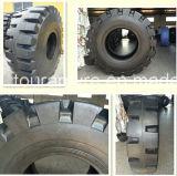 Pneumático da escavadora OTR do carregador da armadura L-5, pneu diagonal de Manchinery OTR da construção (17.5-25, 20.5-25, 23.5-25, 26.5-25, 29.5-25, 35/65-33, 40/65-39, 41.25/70-39, 45/65-45)