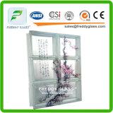 Bloque de cristal/ladrillo de cristal/bloque de cristal claro/ladrillo de la esquina de cristal claro/hombro de cristal