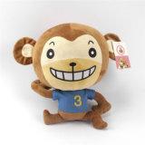 Giocattolo della peluche della scimmia farcito animale molle del giocattolo del regalo di promozione per il commercio all'ingrosso