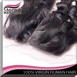 、Remyの毛の拡張巻き毛、ブラジルのバージンの毛深くレースの閉鎖の卸売のバージンの毛