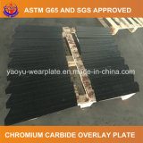 Placa afrontada carboneto do desgaste do cromo