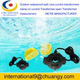 Impermeable al aire libre de núcleo dividido, CT Transformador de corriente primaria nominal de corriente de 100 ~ 1200A