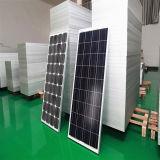 TUV公認の安いモノラル130W 12Vの携帯用太陽電池パネル