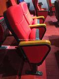 Hotsale Competitve faltbare Metalltheater-Stuhl-Auditoriums-Stuhl-preiswerte Preis-Polsterung-kleiner Kirche-Stuhl (YA-16)