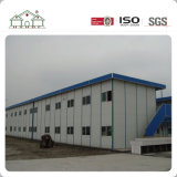 Tipo hogar prefabricado del bajo costo K del proyecto de Malasia de la casa prefabricada con el panel de emparedado