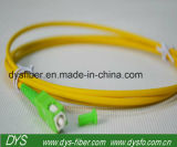 Sc/APC Singlemode Simplexfaser-Überbrückungsdraht-Kabel