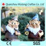 Progettare la statua per il cliente di Gnome della resina della decorazione dei Figurines di Gnome del giardino della resina