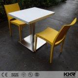 صنع وفقا لطلب الزّبون صلبة سطحيّة [فست فوود كورت] مربّع طاولة