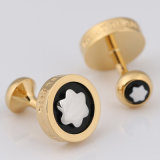 Klassiek Messing om Cufflinks van Gemelos MB