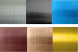 SUS201, 304, chapa de aço inoxidável de 316 cores