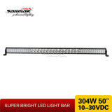 "50 "" 304W exklusiver LED heller Stab mit kombiniertem Träger"