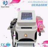 corpo do laser +RF+Vacuum+Cavitation 4in1 do diodo 650nm que Slimming o equipamento
