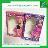 漫画シリーズピンクの堅いボール紙の香水の装飾的な荷箱