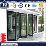 Puerta de cristal del escaparate de la alta calidad de aluminio exterior moderna de la puerta