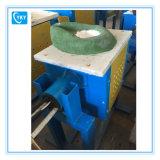 Forno di fusione del laboratorio dell'oro elettrico a temperatura elevata del metallo prezioso/fornace di versamento