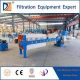 Prensa de filtro abierta hidráulica del compartimiento de secuencia 630series