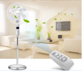 16 Inch 6 Blades Electric Stand Fan mit LED Display