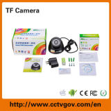 USB Output TF Card 32GB를 가진 소형 IR Dome CCTV Digital Web Camera