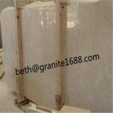 Lastra e mattonelle di marmo beige, lastra di marmo beige crema poco costosa cinese e mattonelle