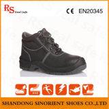 Промышленные кожаный ботинки безопасности с сертификатом Ce (RS572)