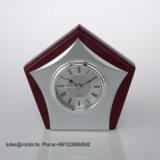 Orologio di legno A6041 della Tabella del quarzo di alta qualità