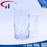 copo especial do vidro de cerveja do projeto 500ml com mão (CHM8354)