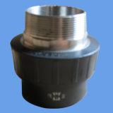 Acoplamento e adaptador do encaixe de tubulação do HDPE (linha fêmea)