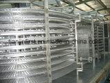 Material de congelación rápida espiral de IQF para el pan de los pescados