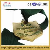 De levering Aangepaste Medaille Van uitstekende kwaliteit van de Eer van het Email van de Legering van het Zink Imitatie voor Middelbare school