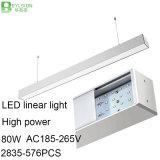80W 고성능 LED 선형 빛 점화