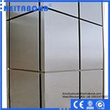 El panel compuesto de aluminio del grado de la resistencia de fuego B1/A2 con ASTM E84