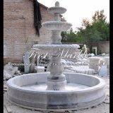 De drie Vermoeide Fontein van Metrix Carrara voor Meubilair mf-1178 van de Tuin