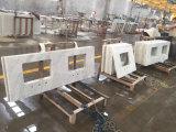 Bancadas brancas de quartzo de Carrara