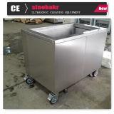 Desengraxador industrial da limpeza ultra-sônica de câmara de ar de cobre da máquina do líquido de limpeza do vapor