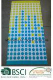 100% قطر مخمل متفاعل إرتكاسي يطبع [بش توول] من سوداء شريط تصميم