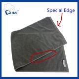 De duidelijke Handdoek van de Salon van het Haar van Microfiber van het Satijn (QCD554)