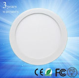 Small rond DEL Panel Light 3W -18W
