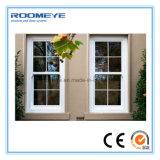 Matériau du cadre en alliage d'aluminium et motif d'ouverture vertical Fenêtre coulissante verticale en aluminium