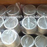 Filtro de disco de malha de fio sinterizado de aço inoxidável