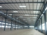 Светлая стальная структура полинянная/пакгауз/гальванизированная мастерская