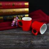 أحمر صنع وفقا لطلب الزّبون [كفّ موغ] خزفيّ في [لوو بريس]