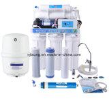 Sistema del depuratore di acqua di osmosi d'inversione della famiglia delle 5 fasi con una visualizzazione delle 5 lampade