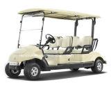 4つのシートの電気ゴルフカート