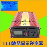 LCD Gewijzigde Convertor van de Macht van de Golf van de Sinus 1500W DC~AC